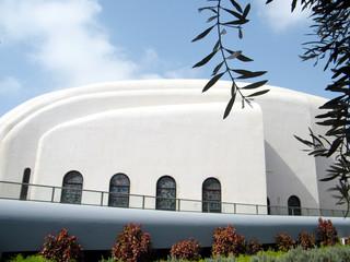 Tel Aviv Hechal Yehuda Synagogue walls 2010