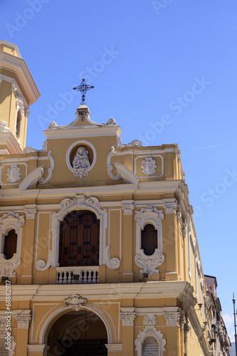 canvas print picture Kirche der Heilige Madonna del Carmine - Sorrento