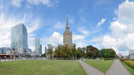 PKiN, Warszawa -Stitched Panorama