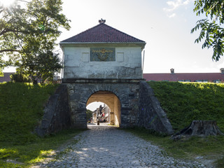 City gate of Fredrikstad Fortress, Norway