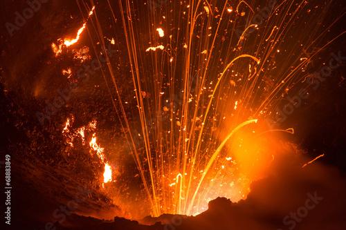 Volcano Yasur Eruption - 68883849