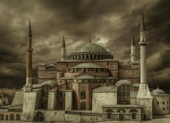 Hagia Sophia Mosque@Istanbul