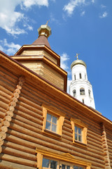 Orthodox wooden church