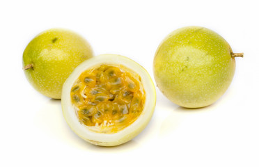 Ripe passion fruit