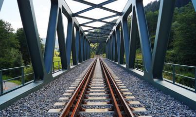 Eisenbahnbrücke im Schwarzwald