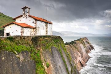 Chapel of San Telmo, Zumaia, Basque Country (Spain)