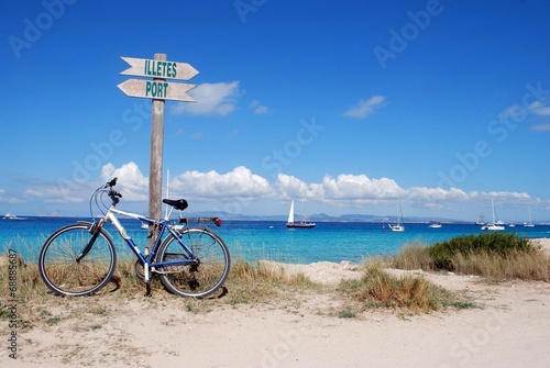 Leinwanddruck Bild Formentera