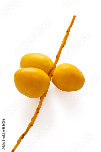 bunch of yellow dates