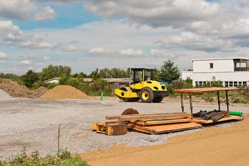 Erschliessungsarbeiten für neues Bauland