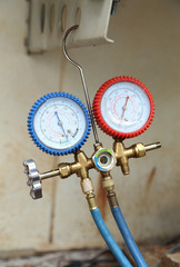 manometers for filling air conditioners