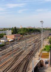 voies ferrées en ville