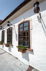restaurant doorway