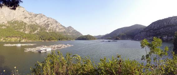 Karacaören II barajı - dam lake