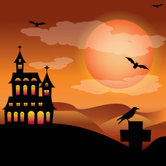 mansion halloween