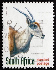 Postage stamp South Africa 1998 Eland, Antelope