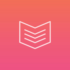 Book - Finely crafted line icons