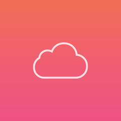 Cloud - Finely crafted line icons