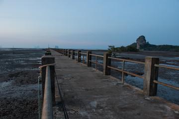 Pier,bridge to sea