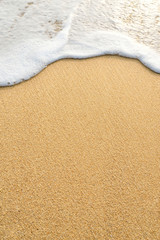 wave sand
