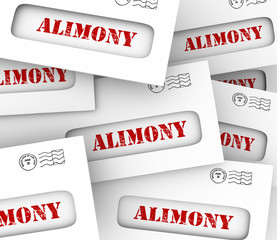 Alimony Envelopes Payments Spousal Support Legal Obligation