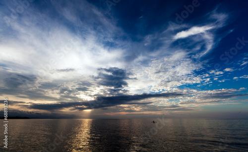 canvas print picture Java Sea