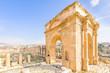 Northern Tetrapylon in Jerash, Jordan.