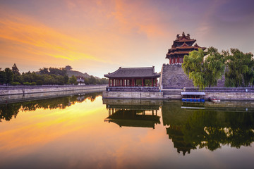 Beijing, China Imperial City Moat
