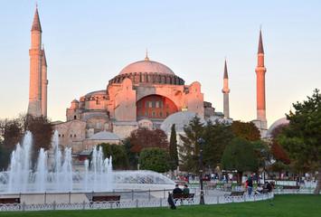 Стамбул, Святая София на закате