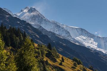 mountain ranges in Graian Alps