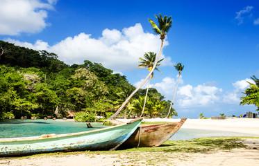 Traumurlaub an einem einsamen Karibischen Strand :)