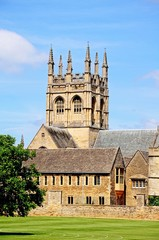 Merton College and chapel, Oxford © Arena Photo UK