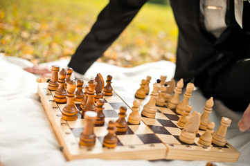 Game of chess.Game of chess.