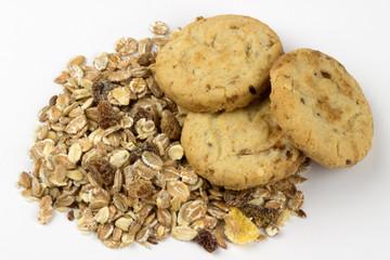 Sweet oatmeal cookies