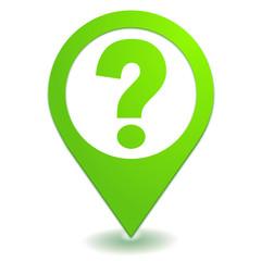 question sur symbole localisation vert