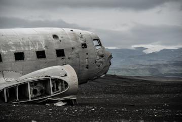 Flugzeugwrack - Lava - Meer - Eis - Island