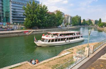 Danube Canal. Vienna. Austria