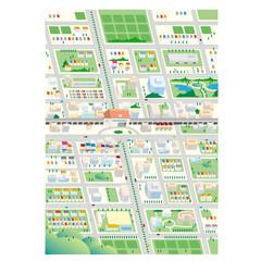 街の風景.2(鳥瞰図)