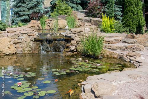 Tropical zen garden - 68898847