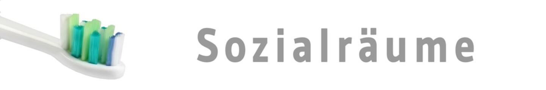 zaps55 - ZahnArztPraxisSchild 55 - Sozialräume - 6 zu 1 - g1155