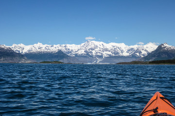 Kayaking in Prince William Sound