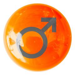 bouton symbole masculin