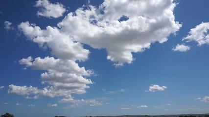 Clip panorama e nuvole