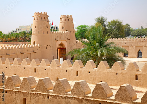 Staande foto Vestingwerk Jahili fort
