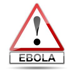 Señal peligro EBOLA