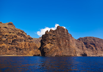 Los Gigantes rock at Tenerife island - Canary