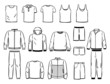 Contours of male sports style