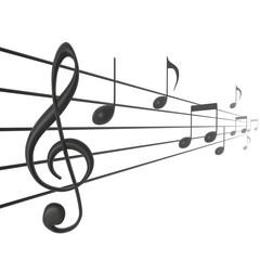 Lang muziek stuk