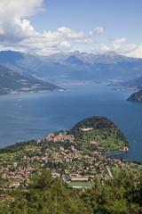 Veduta panoramica del Lago di Como e di Bellagio