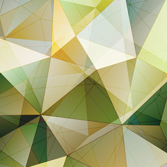 Color Triangle Abstract Background