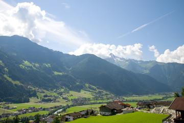 Hippach bei Mayrhofen - Zillertal - Alpen